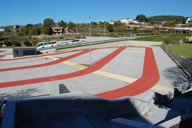 Parque da Cidade de Castro Daire: vista geral