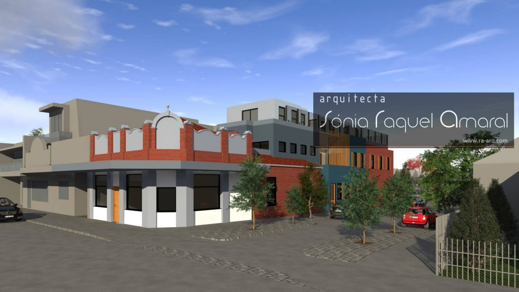 Imagens 3D de Edifício - Clifton Hill – Melbourne, Victoria, Australia